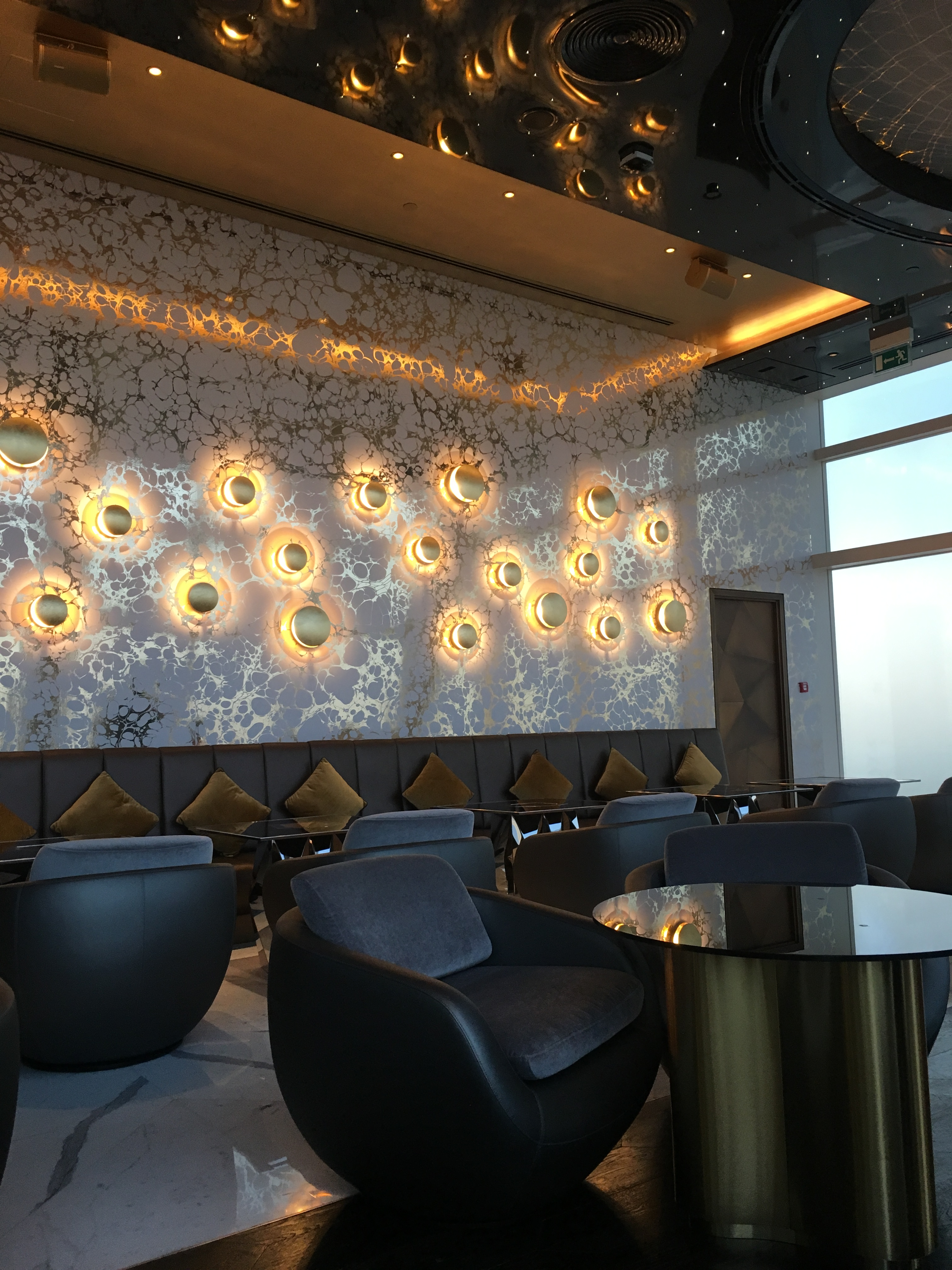 Interiors at Gold on 27