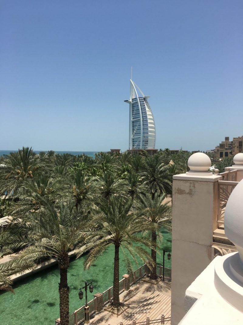 Al Qasr Dubai views over the Burj Al Arab