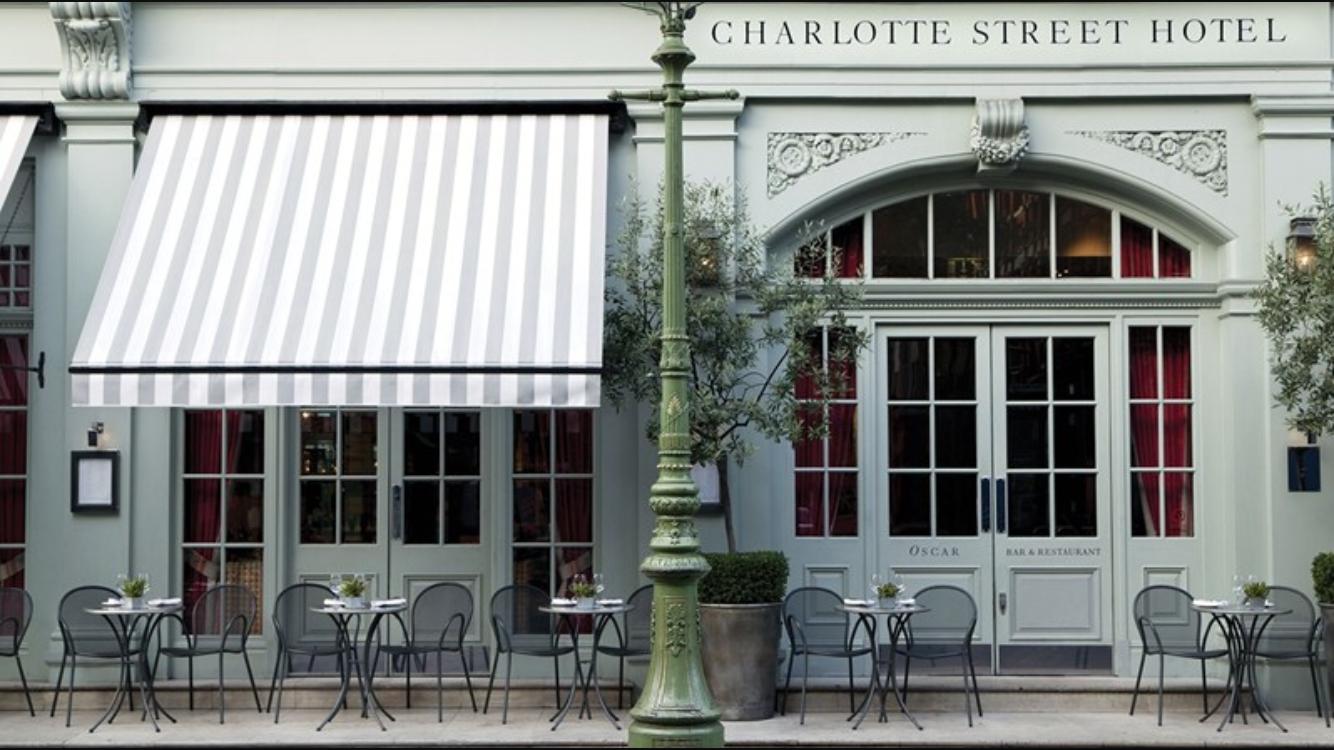 Kate's favourite street in London – Charlotte Street