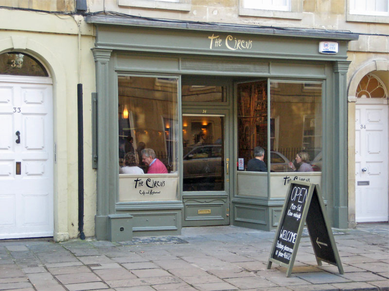 Review: The Circus Restaurant, Bath