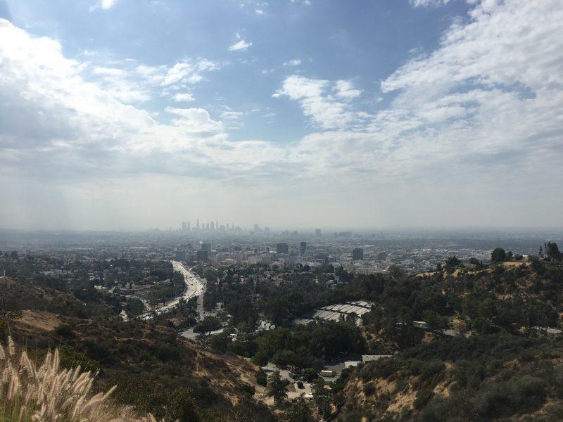 View over LA