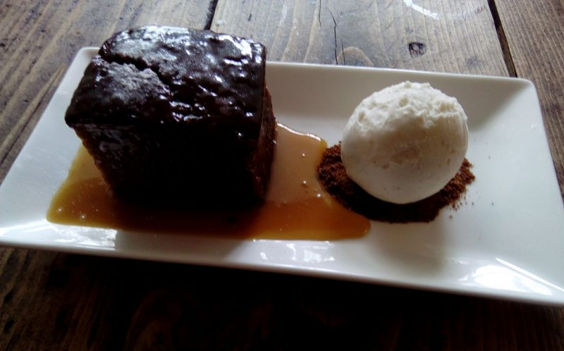 Cavendish Arms Sticky Toffee Pudding