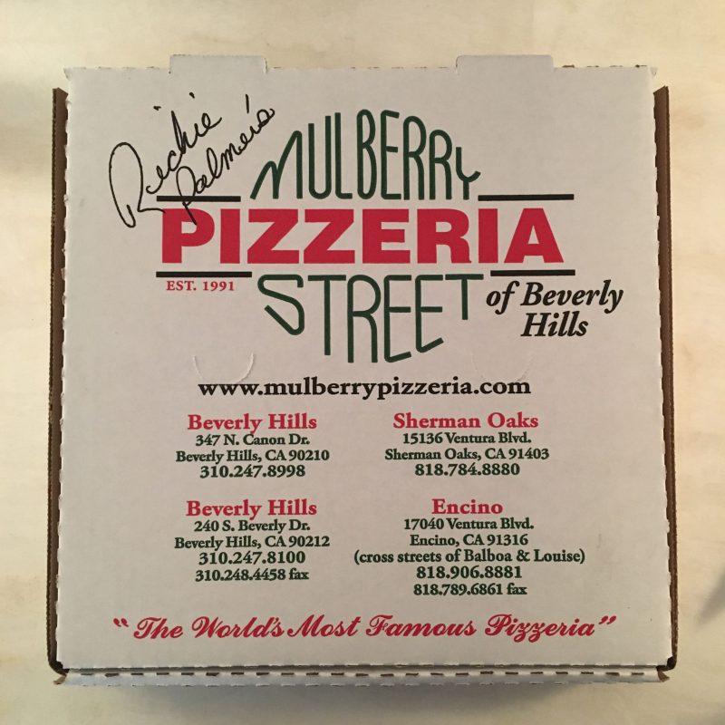 Mulberry Street Pizzeria - Beverly Hills