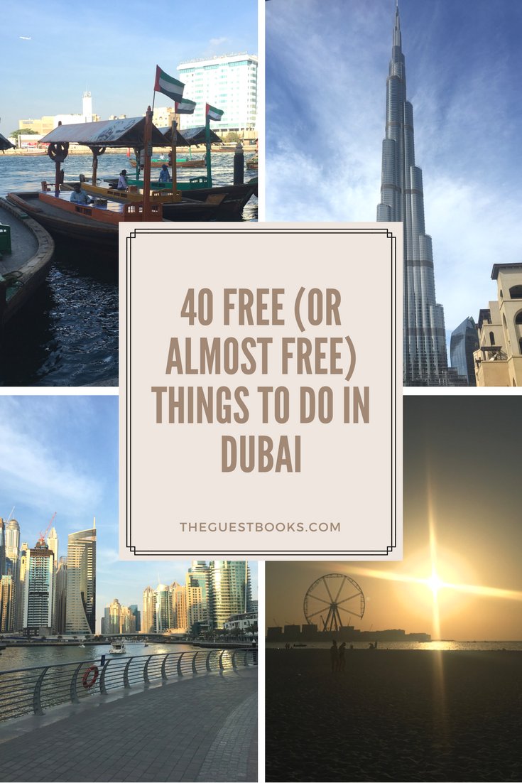 40 free (or almost free) things to do in Dubai