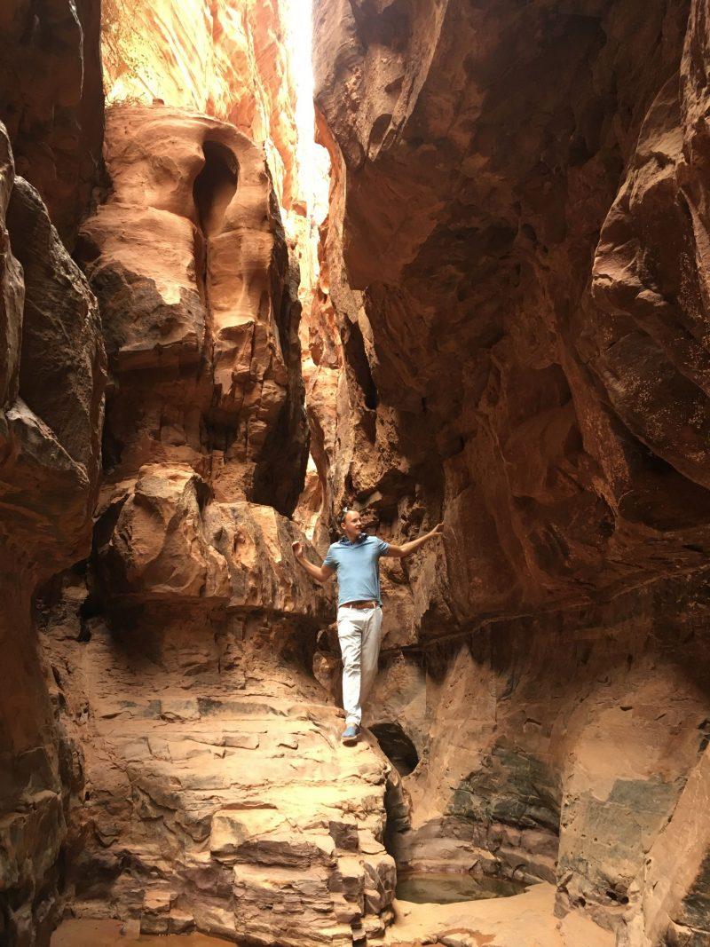 Khazali Canyon Wadi Rum Jordan