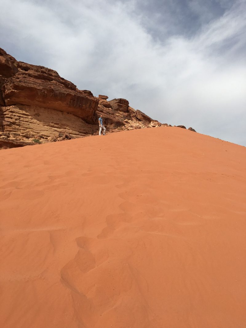 Sand dunes, Wadi Rum, Jordan
