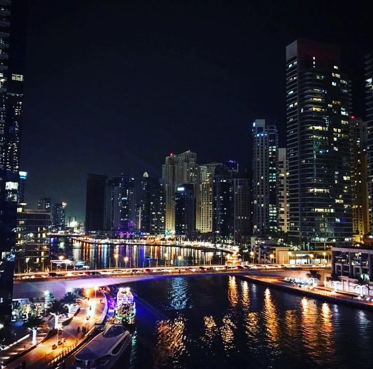 Pier-7-Dubai-Marina-Night