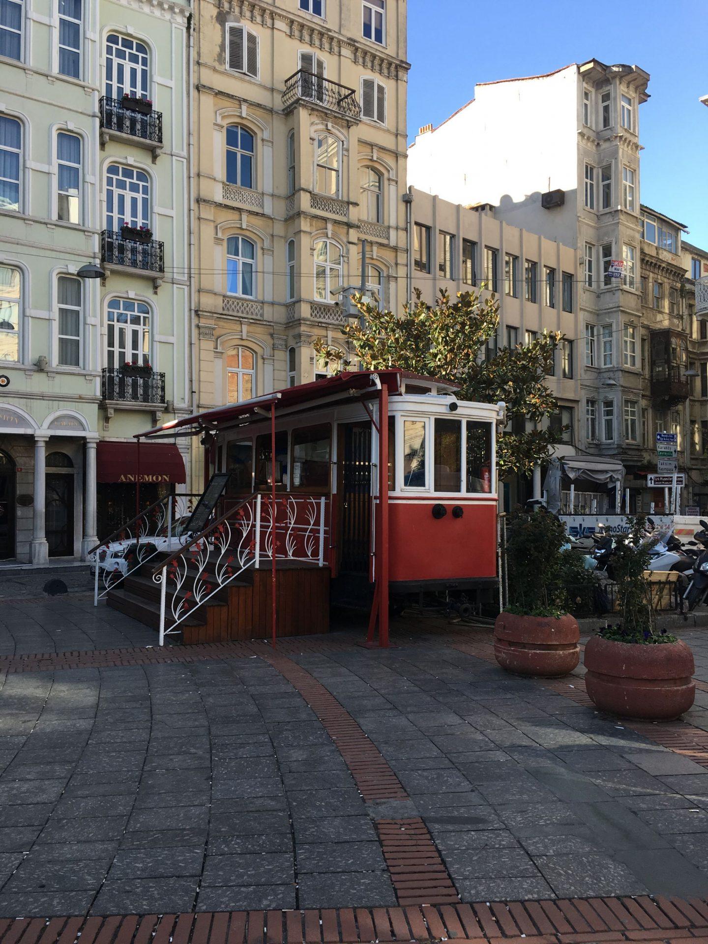 Beyoglu-Istanbul-Tram