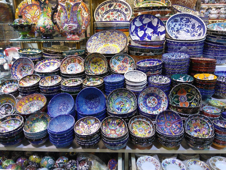 Grand-Bazaar-Istanbul-ceramics