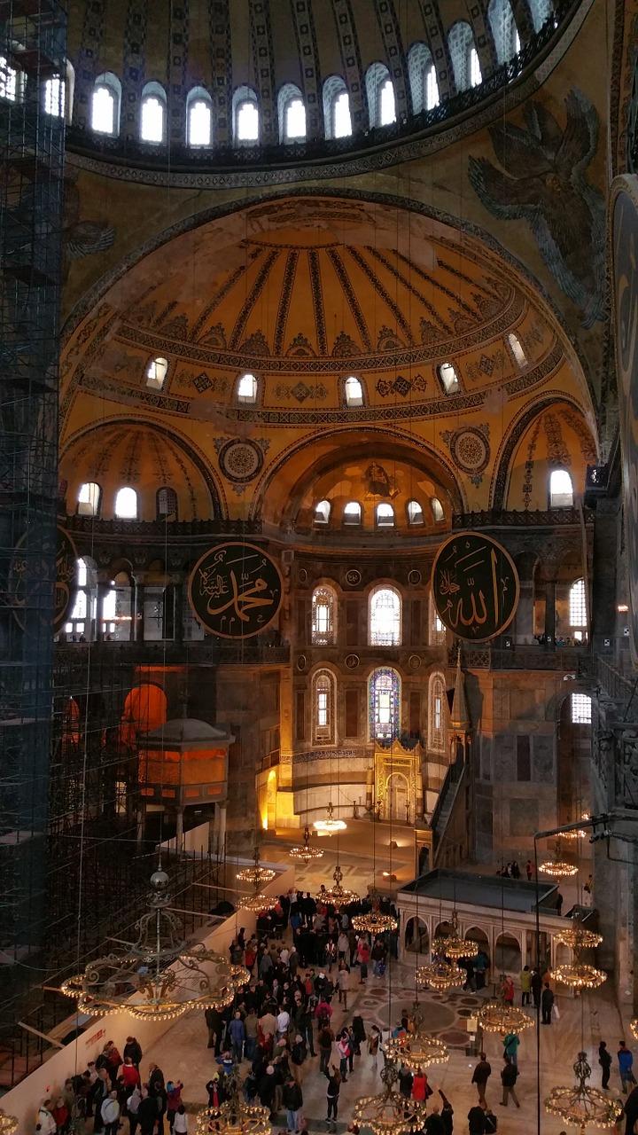 Hagia-Sophia-inside-Istanbul
