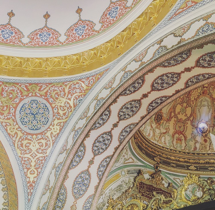 Topkapi-Palace-Istanbul-Harem-Interior-Ceiling